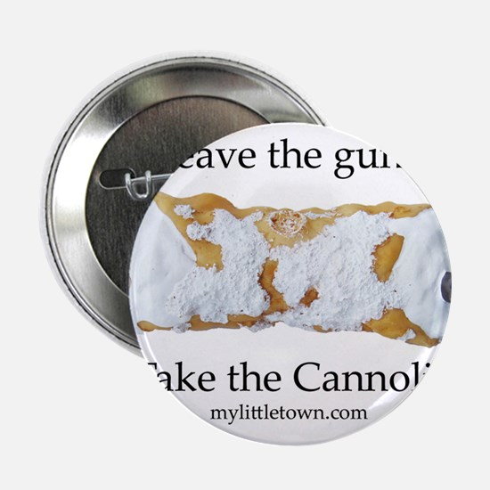 "Cannoli 2.25"" Button"