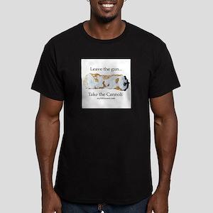 Cannoli Men's Fitted T-Shirt (dark)