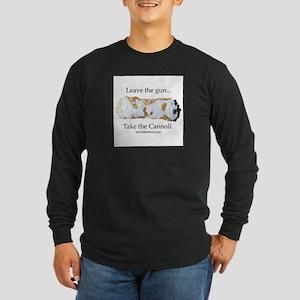 Cannoli Long Sleeve Dark T-Shirt