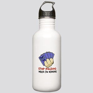 Stop Folding Stainless Water Bottle 1.0L