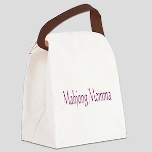Mahjong Momma Canvas Lunch Bag