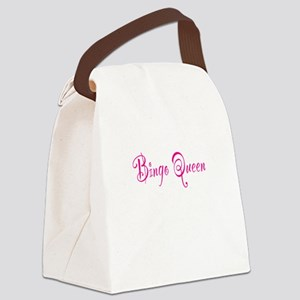 Bingo Queen Canvas Lunch Bag
