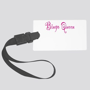 Bingo Queen Large Luggage Tag