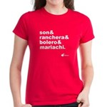 Musica de Mexico Women's T-Shirt