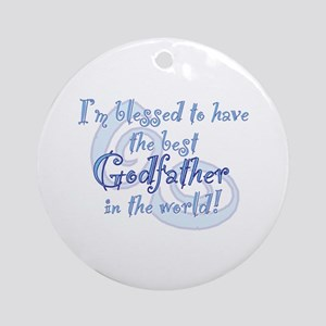 Blessed Godfather BL Ornament (Round)