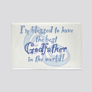 Blessed Godfather BL Rectangle Magnet