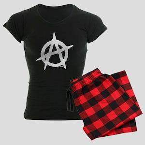 Anarchy (white) Women's Dark Pajamas