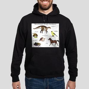 New Jersey State Animals Hoodie (dark)