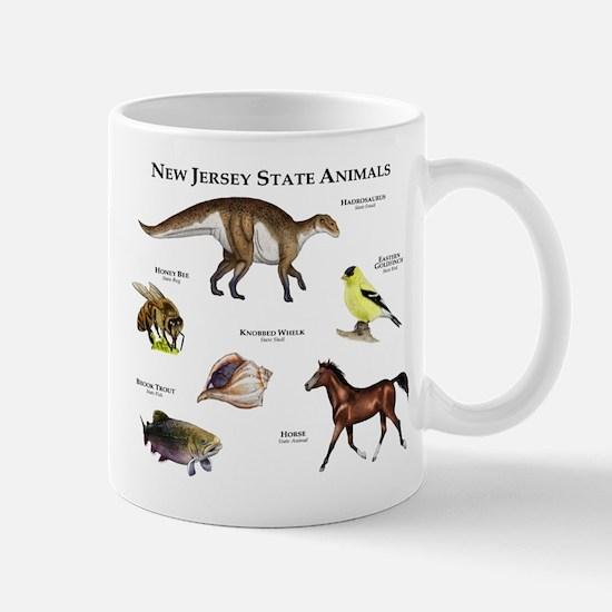 New Jersey State Animals Mug