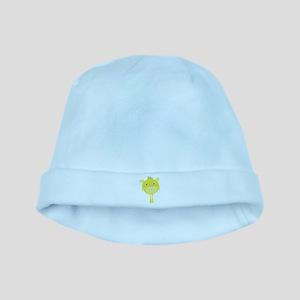 Yellow Monster baby hat
