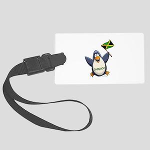 Jamaica Penguin Large Luggage Tag