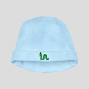 Green Snake Monster baby hat