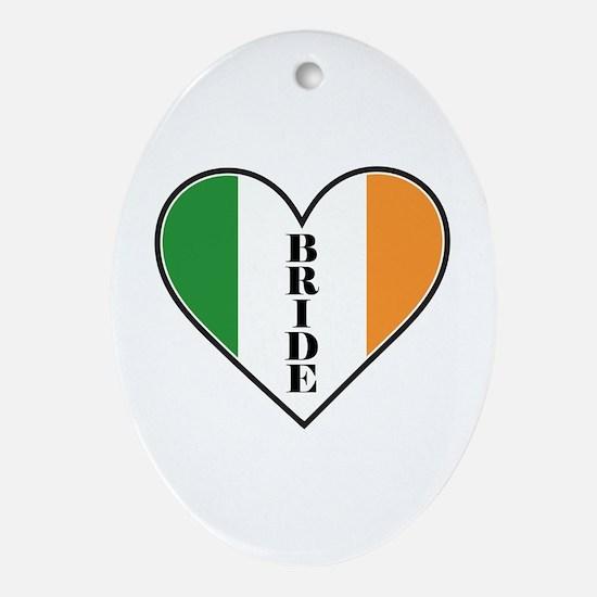 IRISH BRIDE Ornament (Oval)