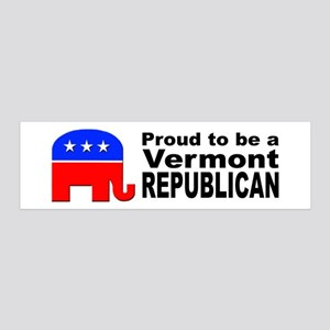Vermont Republican Pride 36x11 Wall Decal