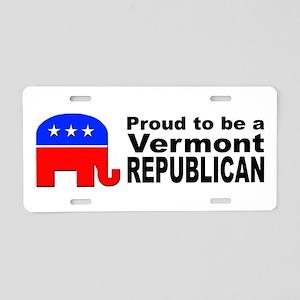 Vermont Republican Pride Aluminum License Plate