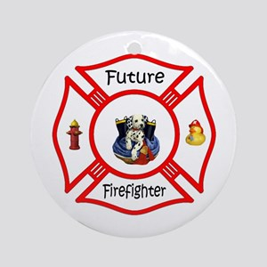 Future Firefighter Ornament (Round)