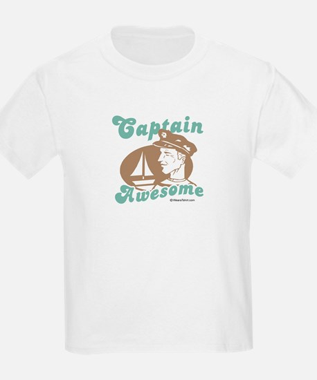 Captain Awesome -  Kids T-Shirt
