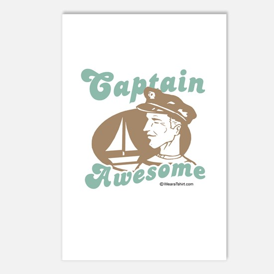 Captain Awesome -  Postcards (Package of 8)
