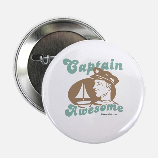 Captain Awesome - Button