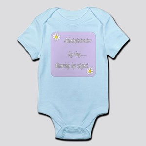 Administrator by day Mommy by night Infant Bodysui
