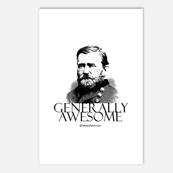 Generally Awesome -  Postcards (Package of 8)