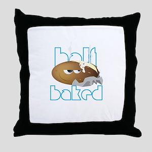 Half Baked Throw Pillow