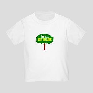 Im A Great Tree Climber/t-shirt Toddler T-Shirt