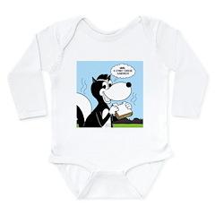 Stinky Cheese Sandwhich Long Sleeve Infant Bodysui