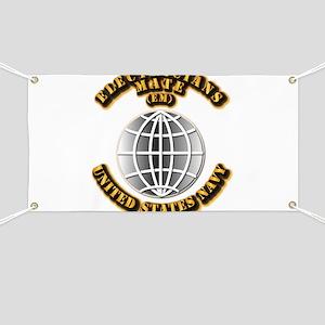 Navy - Rate - EM Banner