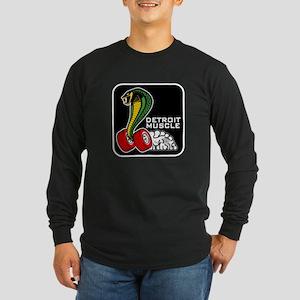 Detroit Muscle Long Sleeve Dark T-Shirt