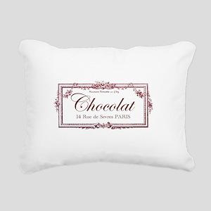 chocolat Rectangular Canvas Pillow