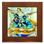 Angel Framed Tile