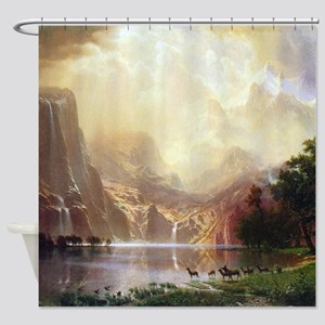 Bierstadt Sierra Nevada Shower Curtain