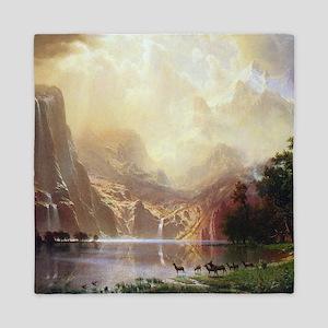 Bierstadt Sierra Nevada Queen Duvet
