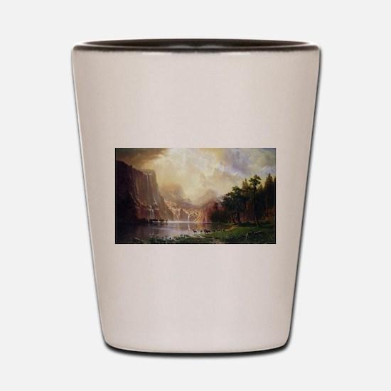 Bierstadt Sierra Nevada Shot Glass