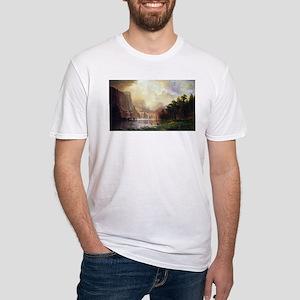 Bierstadt Sierra Nevada Fitted T-Shirt