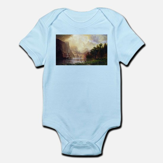 Bierstadt Sierra Nevada Infant Bodysuit