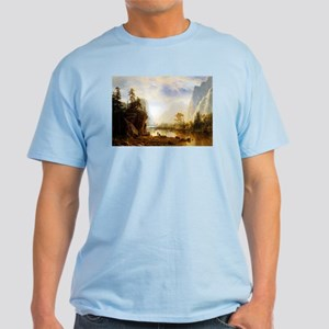 Albert Bierstadt Yosemite Valley Light T-Shirt