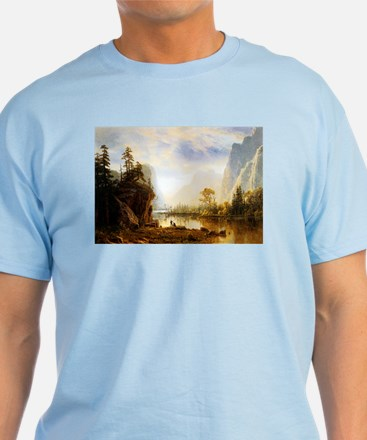 Albert Bierstadt Yosemite Valley T-Shirt