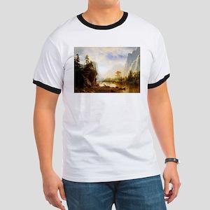 Albert Bierstadt Yosemite Valley Ringer T