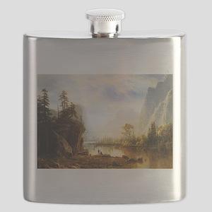 Albert Bierstadt Yosemite Valley Flask