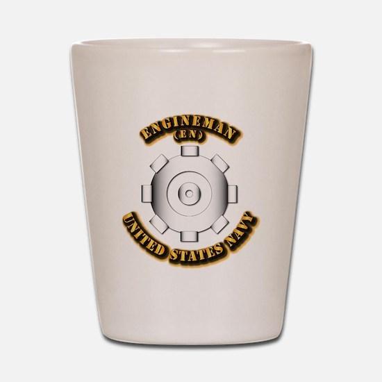 Navy - Rate - EN Shot Glass