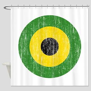 Jamaica Roundel Shower Curtain