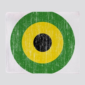 Jamaica Roundel Throw Blanket