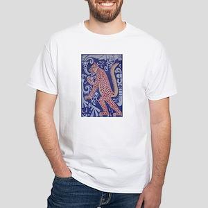 Jaguar Consuming White T-Shirt