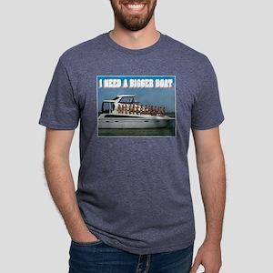 BIGGER BOAT Mens Tri-blend T-Shirt