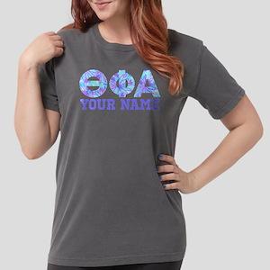 Theta Phi Alpha Blue P Womens Comfort Colors Shirt