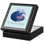 9-11 We Have Not Forgotten Keepsake Box