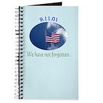 9-11 We Have Not Forgotten Journal