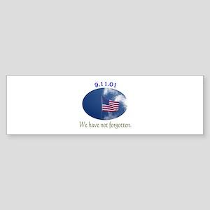 9-11 We Have Not Forgotten Sticker (Bumper 10 pk)